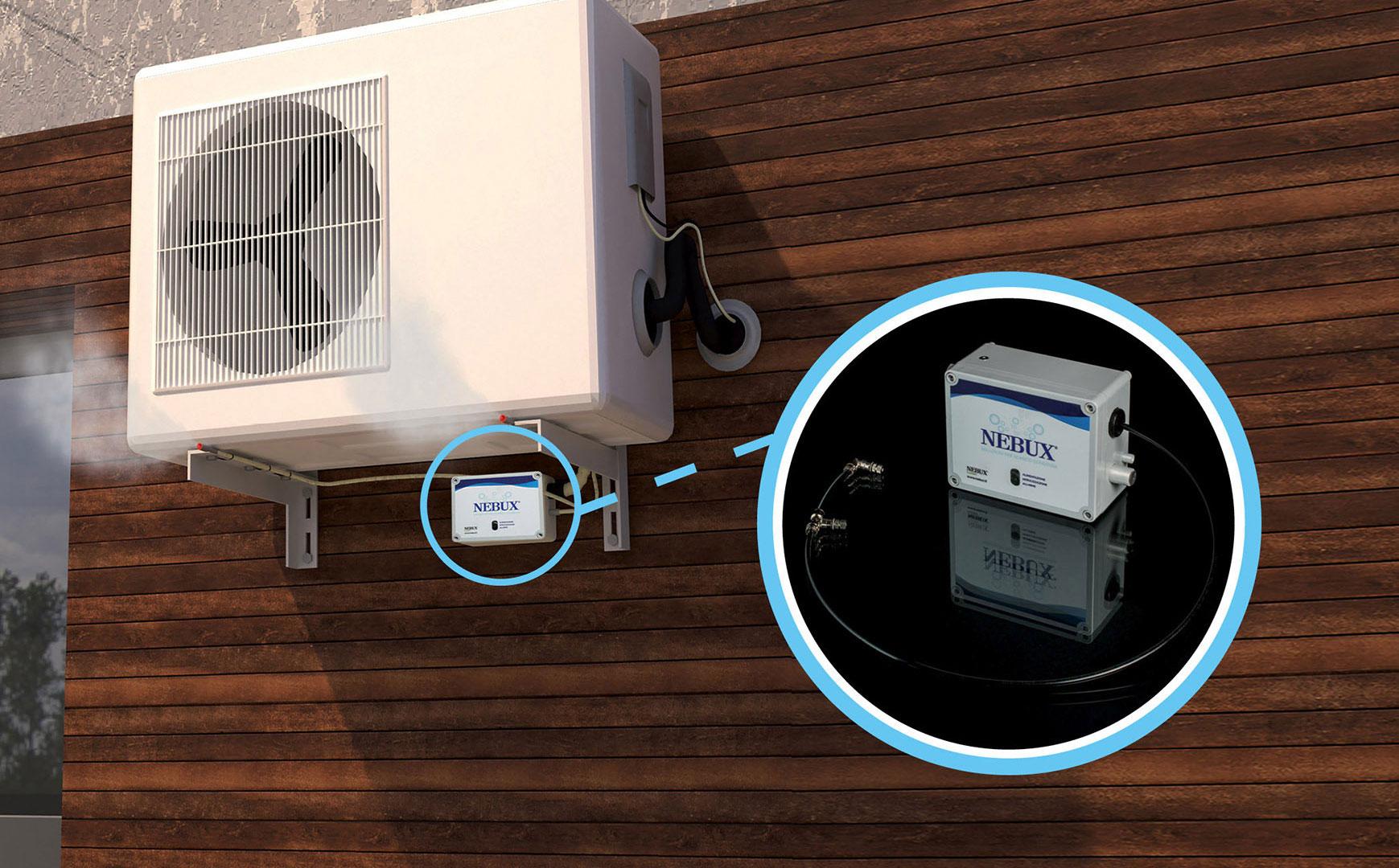 Come Montare Un Condizionatore nebux: nebulizzatore per lo scarico condensa del